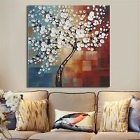Framed Abstract Tree Art Canvas Print Painting Picture Home Wall Hanging Decor