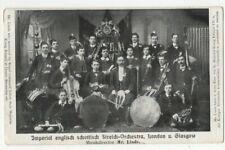 Imperial English Scottish String Orchestra London & Glasgow Postcard US136