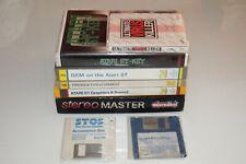 ATARI ST 520ST E FM 1040ST E FM MEGA ST Software + Stereo Master + Atari Books