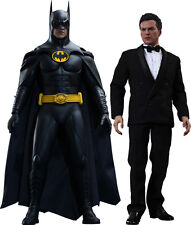 BATMAN: Returns - Batman & Bruce Wayne 1/6th Scale Action Figure Set (Hot Toys)