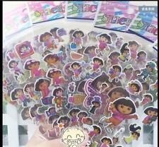 6Sheets Lot Cartoon Animation Dora Scrapbooking PVC stickers Children Gifts