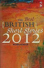 The Best British Short Stories 2012 (Paperback or Softback)