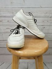 ROCKPORT White Leather Comfort Walking Shoes Men's Size 10