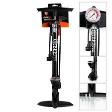Fahrradpumpe Alu Standluftpumpe Luftpumpe Handpumpe 8 bar Manometer