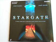 STARGATE LASERDISC PAL widescreen Kurt Russell