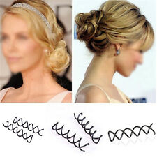 10pcs Spiral Spin Screw Bobby Pin Lady Girl Hair Clips Lady Twist Barrette Gift