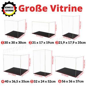 Große Vitrine Acryl Schaukasten Display Vitrinen Ball Box Klein Plexiglas Case