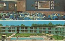 Postcard TN Tennessee Crossville Holiday Inn NrMINTca1960-70s Cumberland County