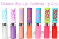 (10%OFF BUY 2+)Maybelline Makeup BABY LIPS Moisturizing Lip Gloss ~ Choose Color