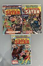 Marvel Spotlight #21 - 23 -- 1975 -- Son of Satan -- Low/Mid Grade