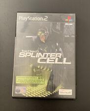 Tom Clancy's Splinter Cell Playstation 2 Ps2 Con Manual