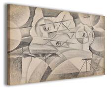 Quadro moderno famoso Tullio Crali vol IV stampa su tela canvas arredo poster