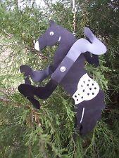 Black Appaloosa Horse Mini Whirligigs Whirligig Windmill Yard Art