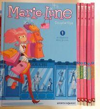 MARIE-LUNE tomes 1 à 5 et 7 Douyé Yllya 6 BD