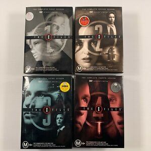 The X Files Collectors Edition Seasons 1 - 4 (DVD 2001 28 disc-set) Region 4