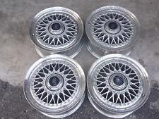 "JDM Linea Sport 15"" MESH rims wheels AE86 ta22 fins civic ef8 eg6 ssr dc2 crx ef"