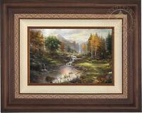 Thomas Kinkade Reflections of Family 12 x 18 Limited Edition E/E Canvas