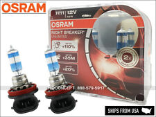 NEW! OSRAM NIGHT BREAKER UNLIMITED H11 Headlamp Halogen bulbs 55W 110% brighter
