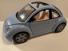 Barbie Volkswagen Vw Beetle Bug Car Blue Vintage