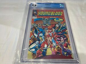 Youngblood 1 CGC 9.8 NM/M 1992 White Pages