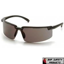 Pyramex Surveyor Sb6120s Safety Glasses Smoke Gray Lens Sunglasses Z87