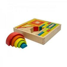 NEW Artiwood Wooden Shape Blocks Set 33pc