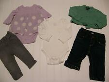 Entire Lot BABY GAP Girls 3-6 Months Winter Jeans Sweater Shirts Clothes Outfits