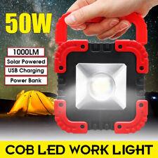 Lampe chargement USB 50W rechargeable en plein air pour voiture camping à LED ME