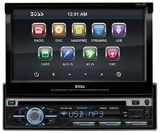 "Boss Bv9979b Car Dvd Player - 7"" Touchscreen Lcd - Single Din - Dvd Video, Video"