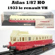 1/87 HO Scale LE RENAULT VH 1933 X-2100 SNCF Diecast Model Train By Atlas 1:87