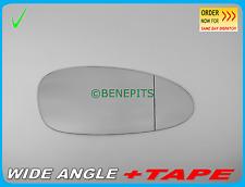 Wing Mirror Glass PORSCHE 911 CAYMAN 2005-09 ASPHERIC + Strong TAPE Right /PR005
