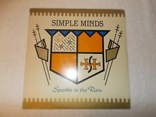 LP Vinyl 12 inch Record Album Simple Minds Sparkle In The Rain