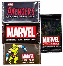 MARVEL RITTENHOUSE PACKS--Single Sealed Packs From 4 Different Sets/ NO Sketch^^