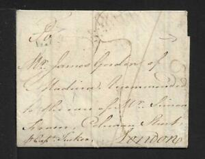 ST.KITTS to MADEIRA via GB cover 1765 RARITY!