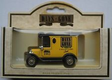 "Lledo - 1920 FORD MODEL T Van ""DAYS GONE Collectors Club 1993"""