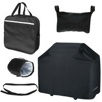 Wheelchair Mobility Scooter Side Bag Seat Belt Cup Bag Backpack Cover New G9S