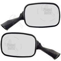 Black Rear View Mirror For Suzuki GSXR 1300 99-19 Hayabusa Back Set Left Right