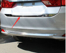 Stainless steel Rear Tail Gate Molding Trim Cover 1pcs for Honda City 2014-2016