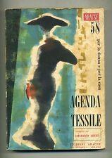 AGENDA TESSILE PER LA DONNA E PER LA CASA - 1958 ARACNE EDIZIONI