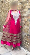 Hot Pink Bollywood Fancy Shalwar kameez dress