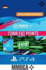 PS4 - FIFA 19 Ultimate Team - 12000 FUT Points Key Playstation 4 Code Nur für DE