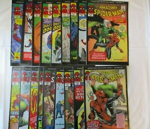 The Amazing Spiderman Collectible Series 2006 Reprints  Lot of 18