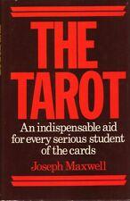 The Tarot by Joseph Maxwell BOOK Reading HC 1975 Occult etc