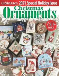 Just Cross Stitch 2021 Christmas Ornaments Issue New