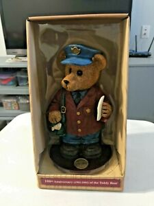 100th Anniversary of the Teddy Bear Roosevelt Collection Postal Carrier