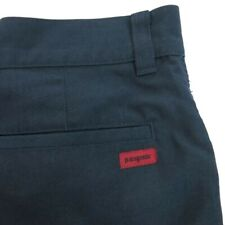 Patagonia Mens Vintage shorts size 31 Flat Front Dark navy