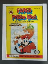 SUPER MARIO BROS SPECIAL EDITION #1 (VALIANT) 1991 NINTENDO COMICS SYSTEM