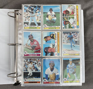 1979 Topps Baseball 600 different card lot