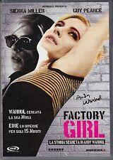 Dvd **FACTORY GIRL ♦ LA STORIA SEGRETA DI ANDY WARHOL** nuovo 2007