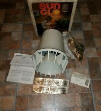 VTG EMERSON SUN GLO HANGING HEATER FAN LAMP BLOWING CEILING LIGHT ELECTRIC SWAG